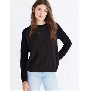 Madewell Province Cross-Back Pullover Sweater XXS
